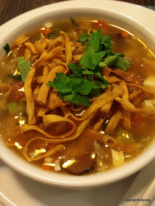 Manchow vegetable soup
