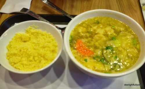 Couscous and soup