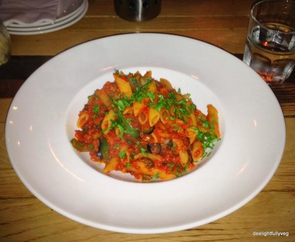 Vegetariano pasta