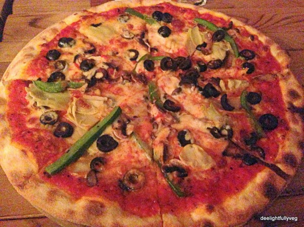 Vegetariano pizza