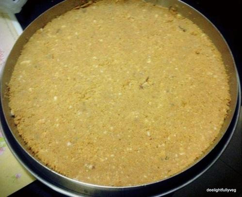 Peanut and dry fruit barfi