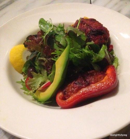 Stuffed veggie salad