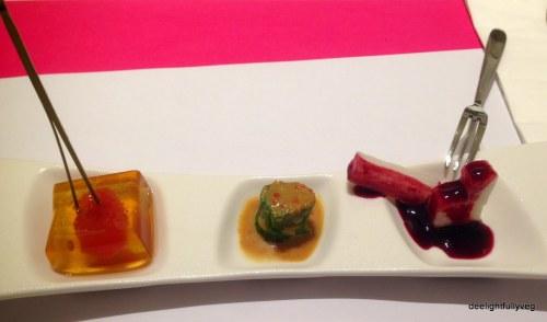 Sufood appetizer trio