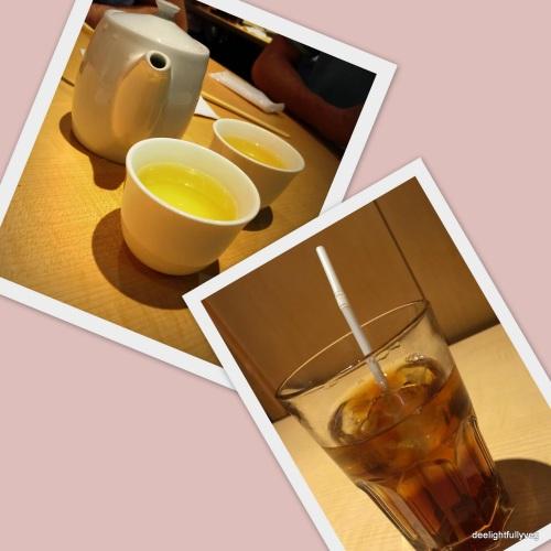 Teas at Shimbashi Soba