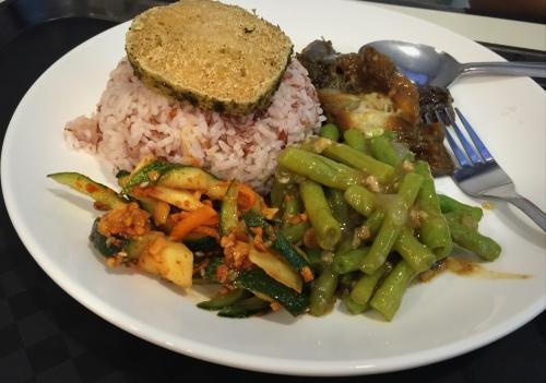 Veg brown rice set