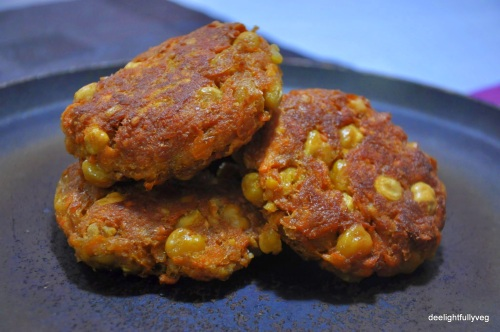 Sweet potato and chickpea burger patty