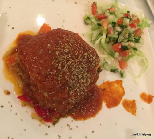 Vegetarian mousakka
