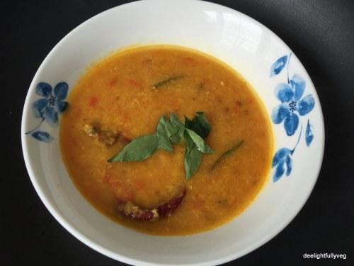 Mixed lentils dal