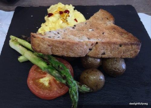 Veggie breakfast