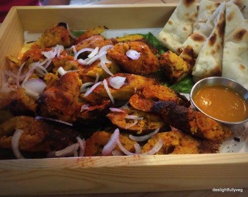 Veg Seekh kebabs