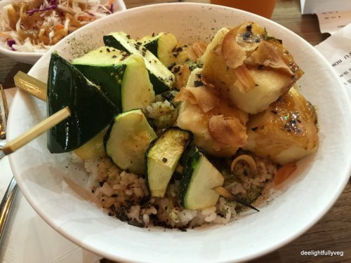 Garlic Tofu Bowl
