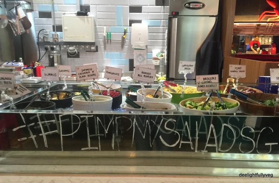 Pimp my salad stall