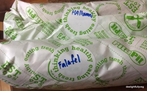 Pita pit wraps