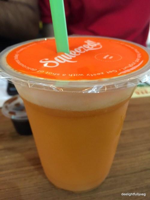Squeezed juice