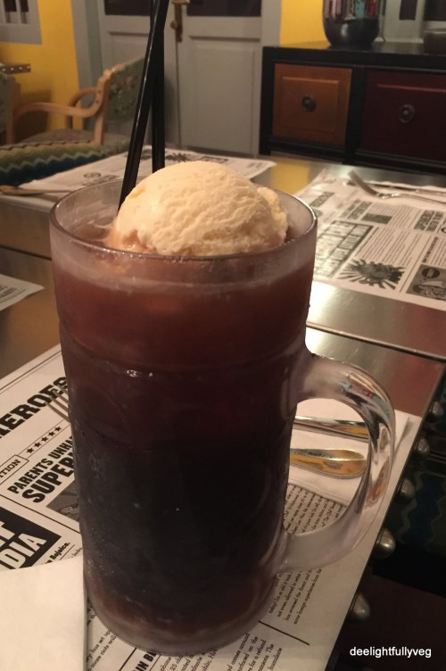 Colossal Coke Float at $10