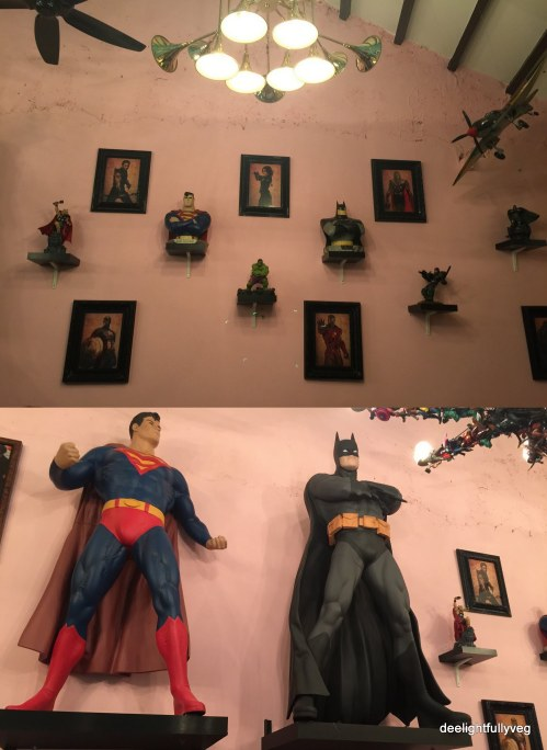 Hungry Heroes decor