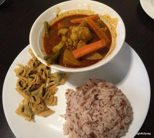 Veg curry set