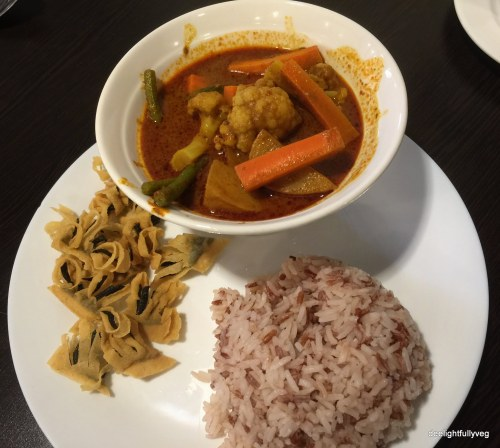 Veg curry set
