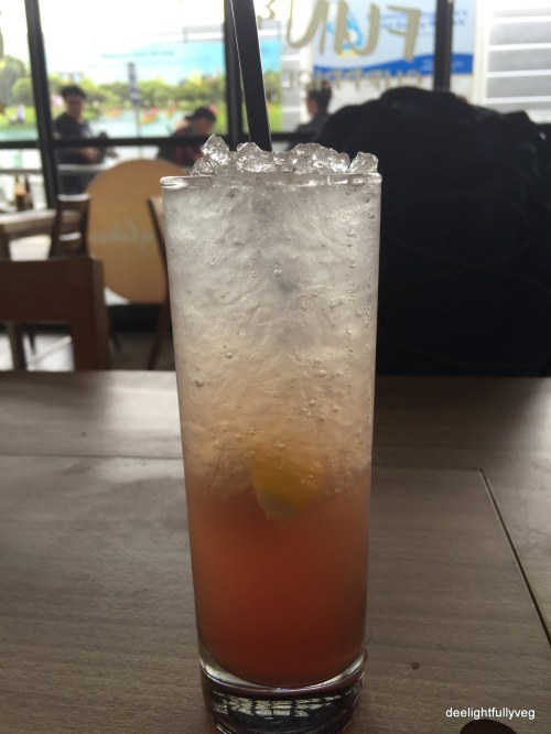 pink thyme lemonade