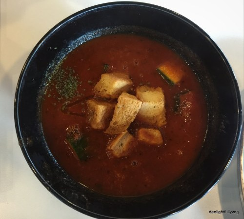 Roasted Roma soup
