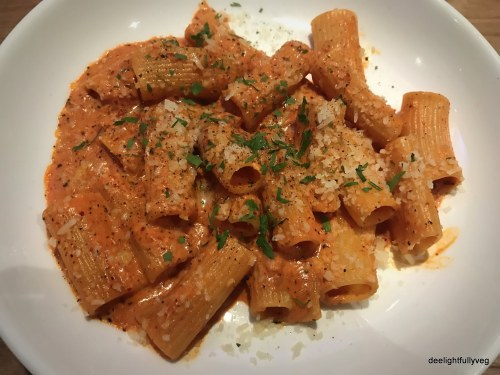 Vodka Rigatoni