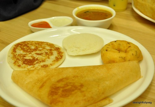 Dosa idli and vada
