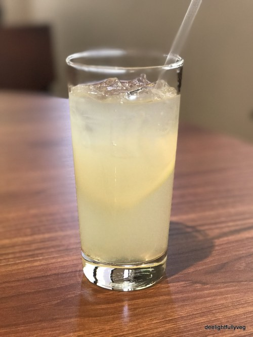 Ice lemon juice