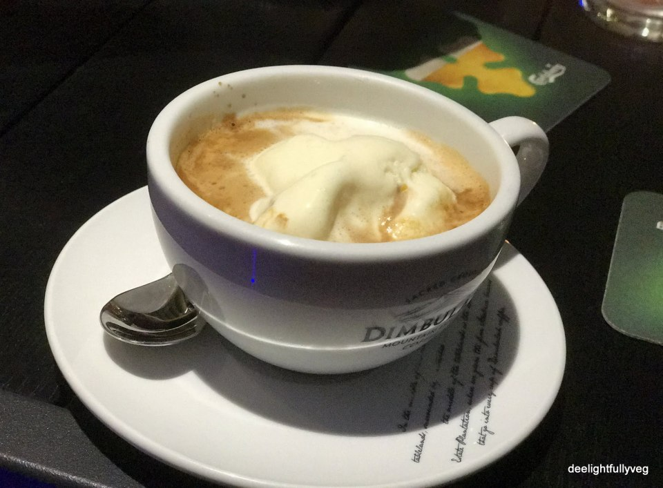 Affogato plain