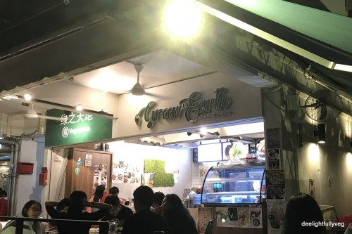 Green on Earth cafe