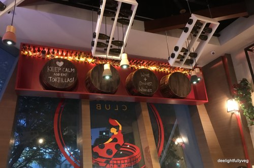 Tapas Club decor