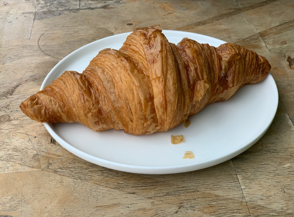 Butter Croissant Enchanted Cafe Secret Garden